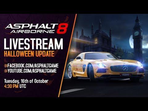Asphalt 8 - Halloween Update Reveal Livestream