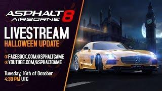 Asphalt 8 - Halloween Update Reveal Livestream thumbnail