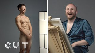 Best Friends Paint Nude Portraits of Each Other   Cut