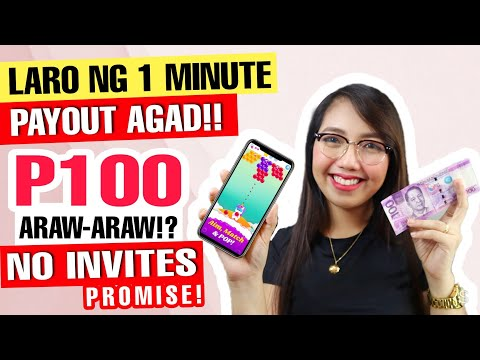 PROMISE NO INVITE! LARO KA LANG 1 MINUTE PAYOUT NA AGAD AGAD!! PWEDE SA TAMAD | LEGIT WITH OWN PROOF