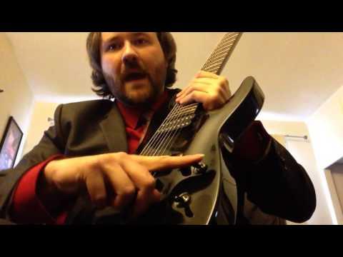 8 string guitar rundown- my set-up