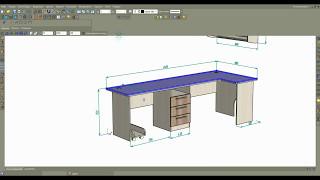 Подготовка стола для производства Часть 1 ая Базис-Мебельщик 8