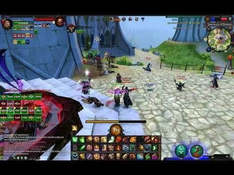 Warhammer Online gameplay PvP RvR - Black Company - Retaking Sanctuary of Dreams BO - 2009-10-21