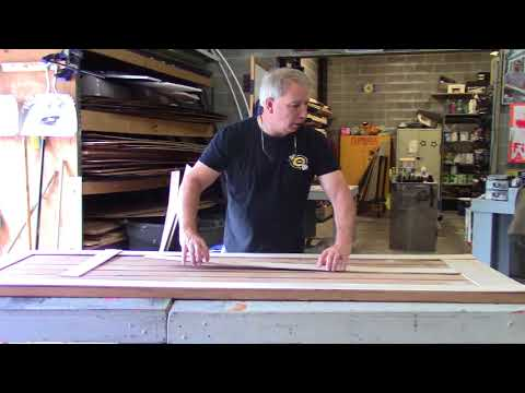 Making different Architectural style doors for a theatre set