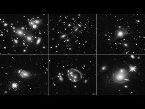 Hubble Hits Jackpot: Captures Ultrabright galaxies through cosmic enlargement.
