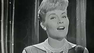 Patti Page, Jo Stafford, Accentuate the Positive, Big Record, 1958 TV Show