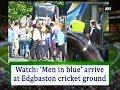 Watch: 'Men in blue' arrive at Edgbaston cricket ground - ANI News