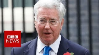 Breaking News: Sir Michael Fallon resigns over past behaviour claims- BBC News