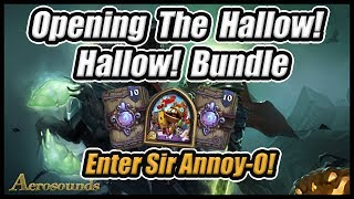 Hallow! Hallow! Bundle Pack Opening - New Paladin Hero Skin Sir Annoy-O