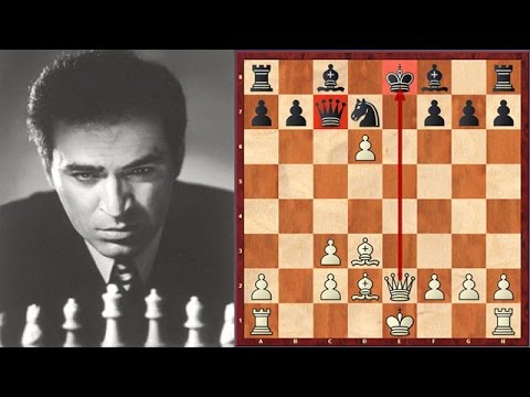 Just Amazing! 14 Year Old Kasparov Destroys His Opponent In 12 Moves!