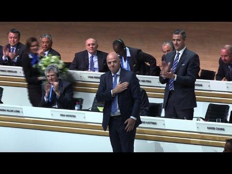 Football: Gianni Infantino élu président de la FIFA