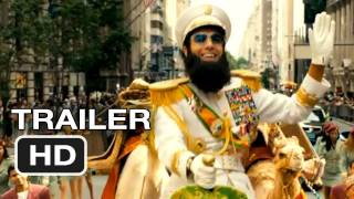 The Dictator Official Trailer #1 - Sacha Baron Cohen Movie (2012) HD