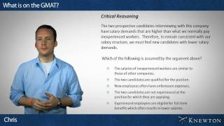 What is on the GMAT?