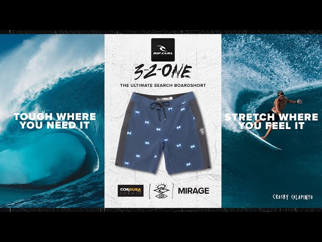 Ultimate Mirage 3/2/One Boardshort   Made For Waves 2020   Rip Curl