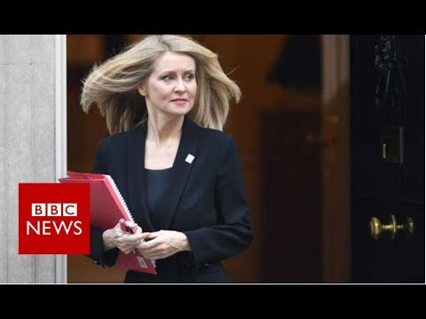 Work and Pensions Secretary Esther McVey resigns  - BBC News