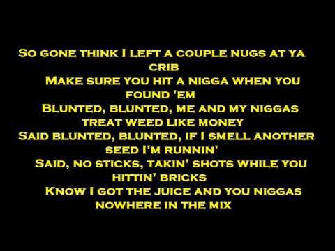 Kid Ink -Blunted Video Lyric