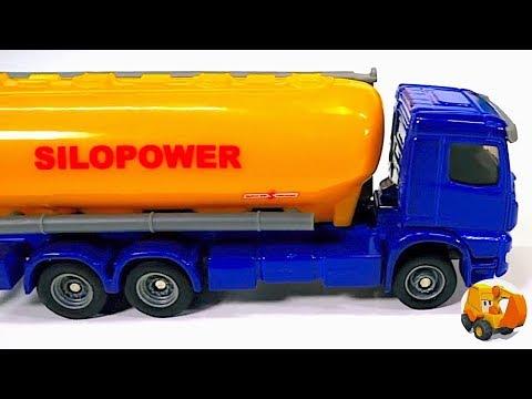 Carritos para niños - Camiones y tractores infantiles