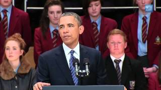 President Obama Speaks to the People of Northern Ireland