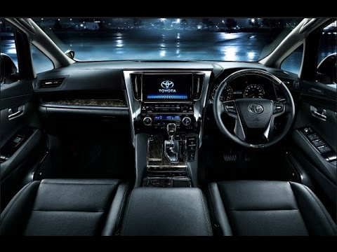 all new vellfire 2015 interior 2019 2016 toyota youtube