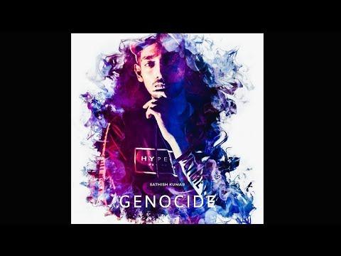 GENOCIDE ORIGINAL(RAP SONG) II LYRIC VIDEO II BENGALURU II SAD-ISHHH TV II (PROD BY GETZH)