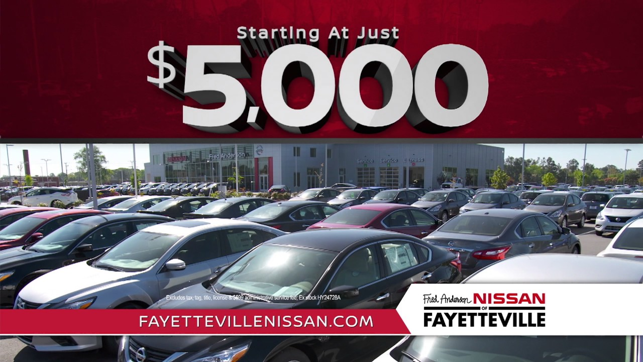 Fred Anderson Nissan Fayetteville >> Fred Anderson Nissan of Fayetteville - Want More Get More - Used Specials - YouTube
