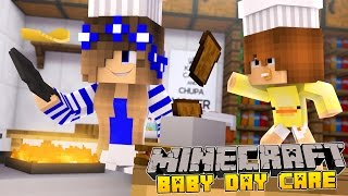 Minecraft-Baby Day Care-BABY DUCKS FIRST WORDS!!