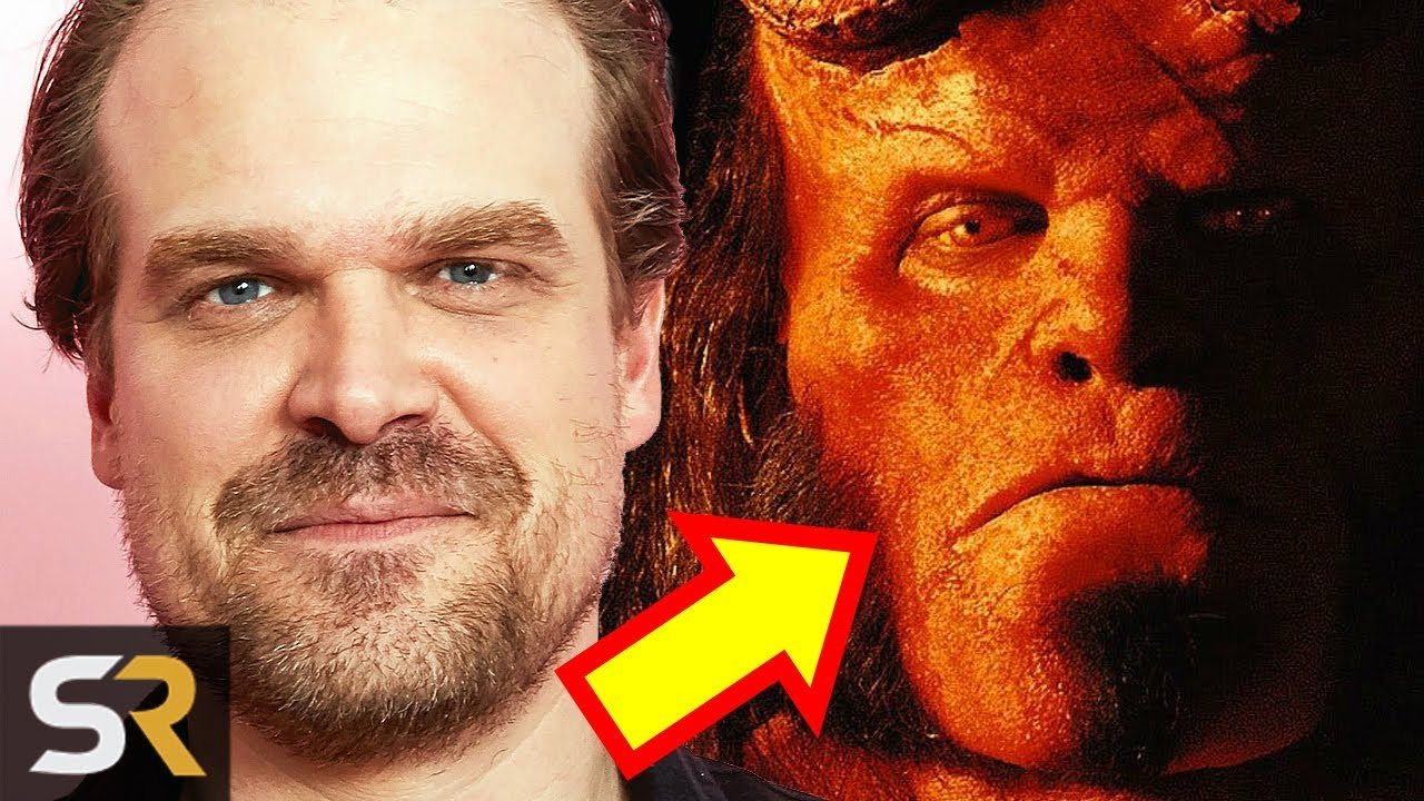 who plays hellboy in the new movie