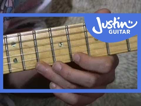 Blues Lead Guitar: Dorian Licks 19of20 Guitar Lesson BL029 How to play