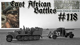 Hearts of Iron 3: Black ICE 9.1 - 118  (Germany) East African Battles