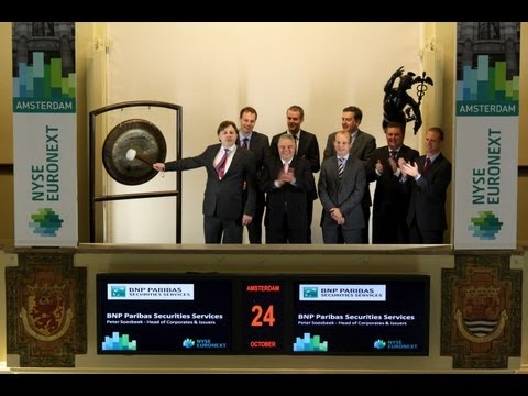 BNP Paribas Securities Services viert 1e plaats in SCI Corporate Trust survey 2012