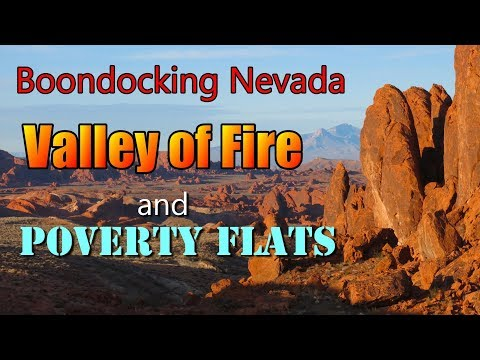 Boondocking Nevada: Valley of Fire