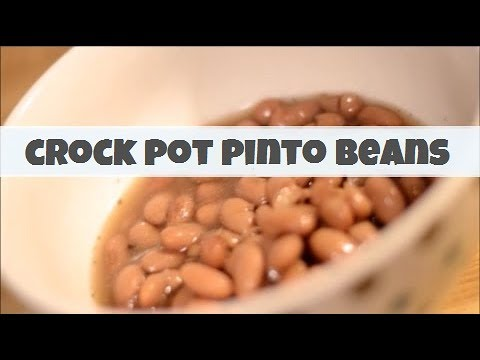 How to make mexican pinto beans in a crock pot