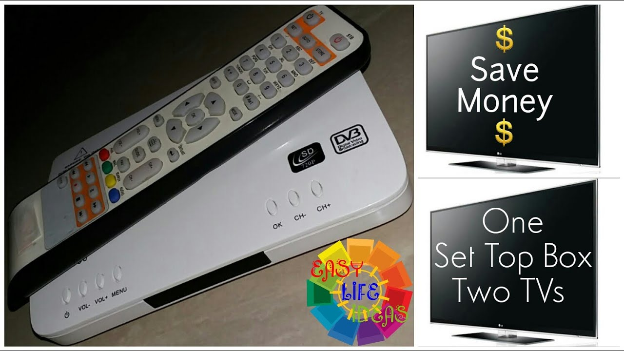 View Multiple Tvs With One Cable Set Top Box Amp Save Money