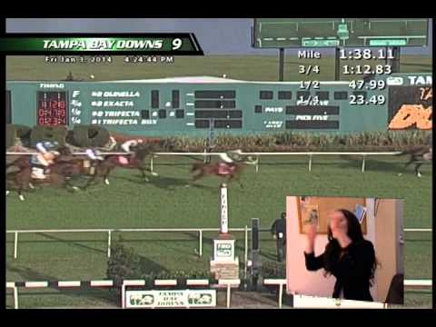 TVG Employee Watches Her Horse Run, Horse Racing Owner Reacts On TVG