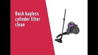 Bush bagless cylinder filter clean7244797