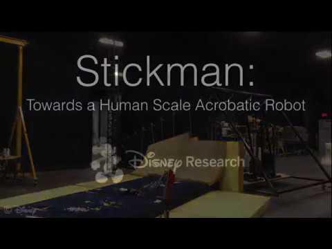 Stickman: Towards a Human Scale Acrobatic Robot