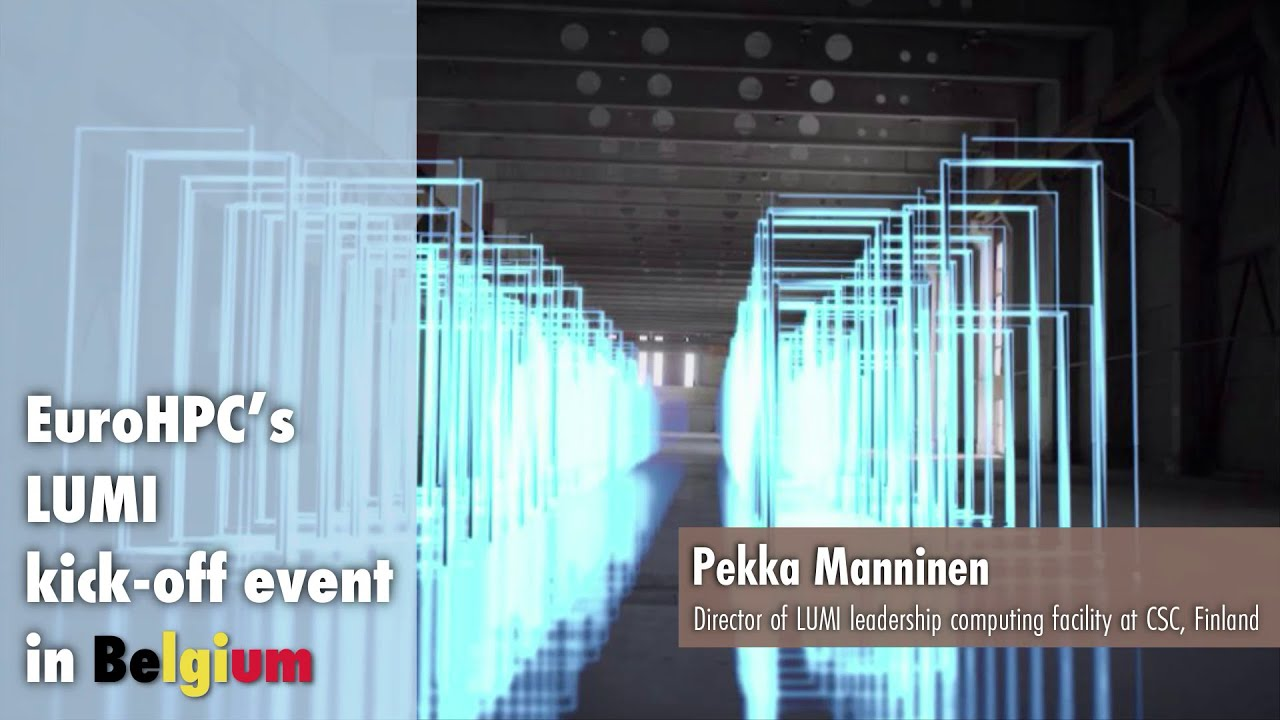 LUMI Kickoff Presentation | Pekka Manninen