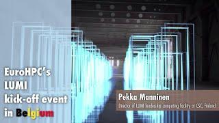LUMI Kickoff Presentation   Pekka Manninen