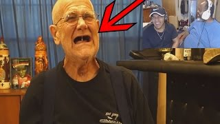 Dad Reacts to Angry Grandpa Reads Comments!