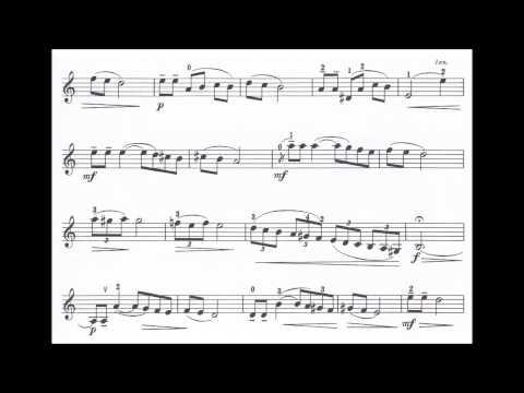 Perlman, George  Israeli Concertino for violin + piano