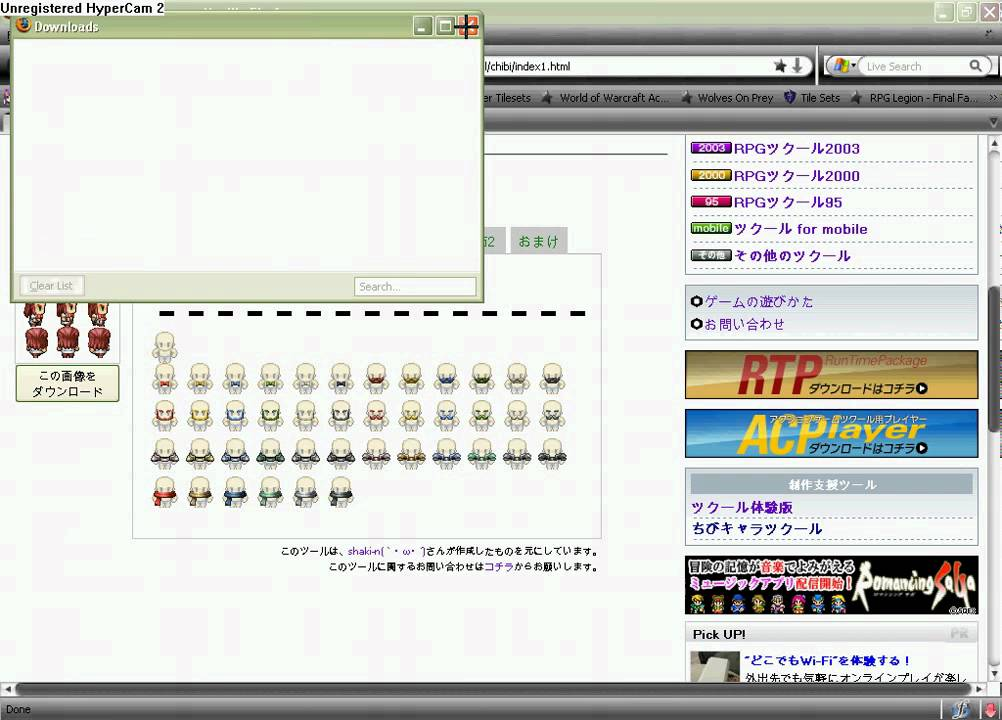 How to make a sprite For RPG Maker VX by Dustin Hoffman