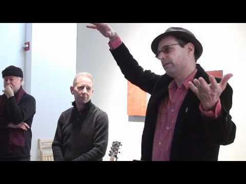 Bob Boilen robin rose, robert goldstein and bob boilen performance/talk