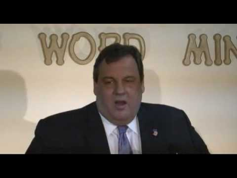 Governor Christie: Congress Needs To Get Their Act Together