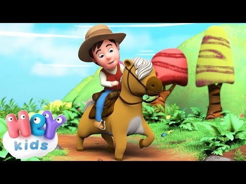 Kinderlieder - Hopp, hopp, hopp, Pferdchen lauf Galopp