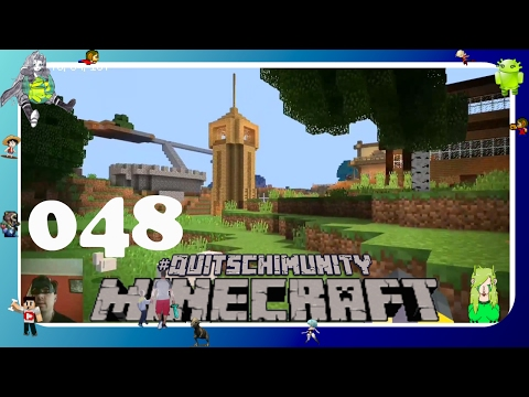 EIN PAAR HÄUSER DES REALMS ❤ #048 #Minecraft Pocket Edition MCPE deutsch Android Let