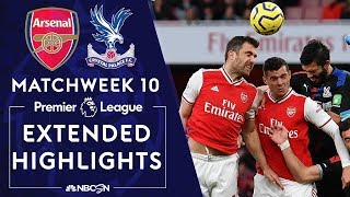 Arsenal V. Crystal Palace | Premier League Highlights | 10/27/19 | Nbc Sports