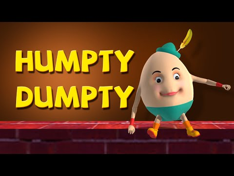 Humpty Dumpty Sat On A Wall Nursery Rhymes