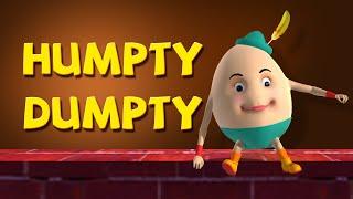 Humpty Dumpty Sat On A Wall Nursery Rhymes