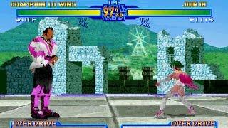 Battle Arena Toshinden URA [Saturn] - play as Wolf