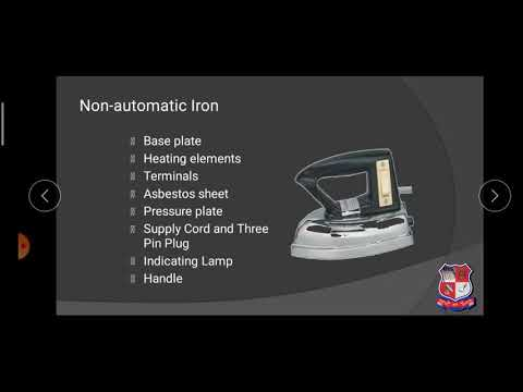 GTU DI ELECTRICAL ENGINEERING 3340903 Electric Iron  Domestic Electrical Appliances 4768